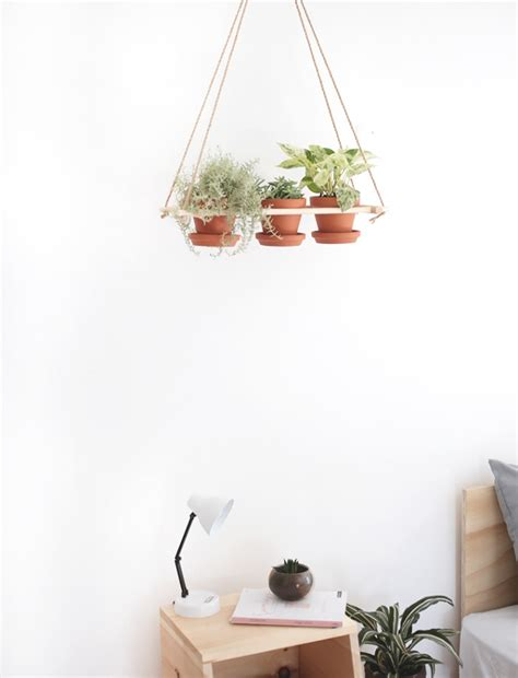 Hanging Planters Diy by Diy Hanging Planter 187 The Merrythought