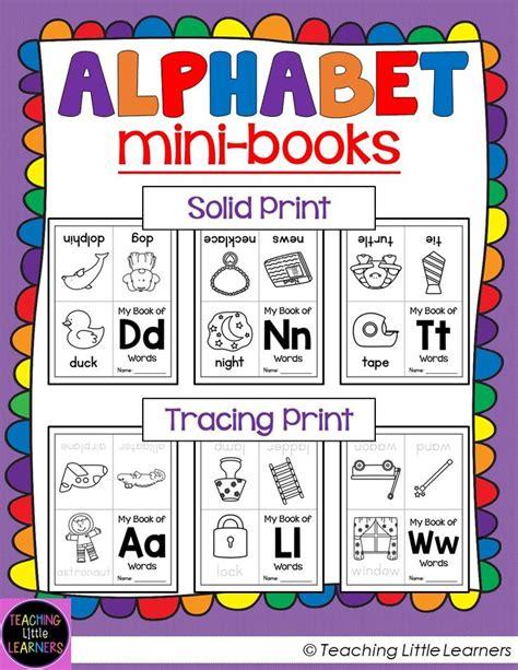 printable alphabet mini books preschool alphabet books mini books student and minis