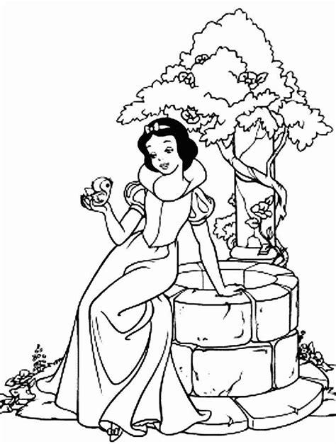 disney coloring pages snow white disney snow white coloring pages az coloring pages