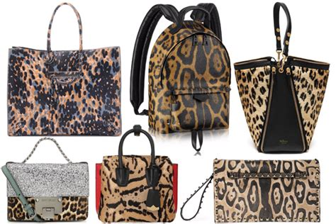 Top 10 Balenciaga Bags For Fall Winter by Top 10 Animal Print Bags For Fall Winter 2016 Spotted