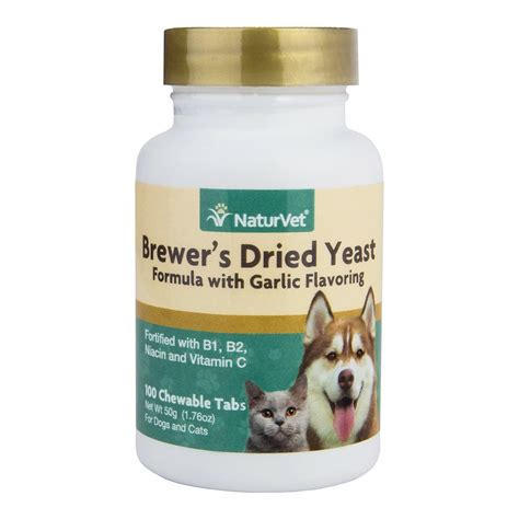 garlic powder for dogs naturvet brewer dried yeast formula garlic and cat vitamins 100 count ebay