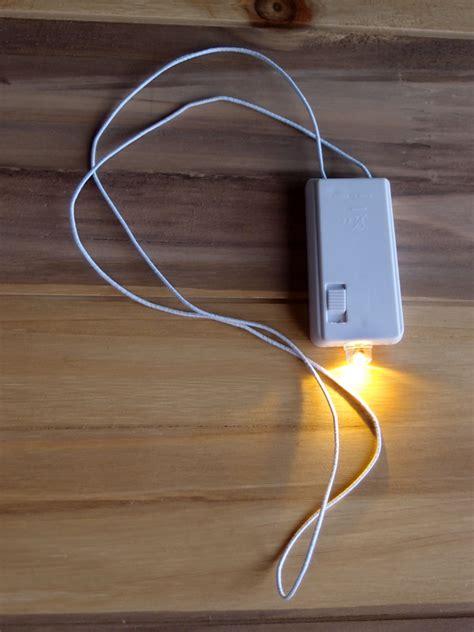 single led light battery powered single led hanging lights for lanterns warm white