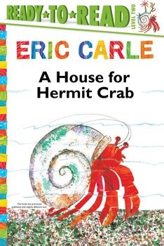 Eric Carle A House For Hermit Crab Hardcover a house for hermit crab book by eric carle official