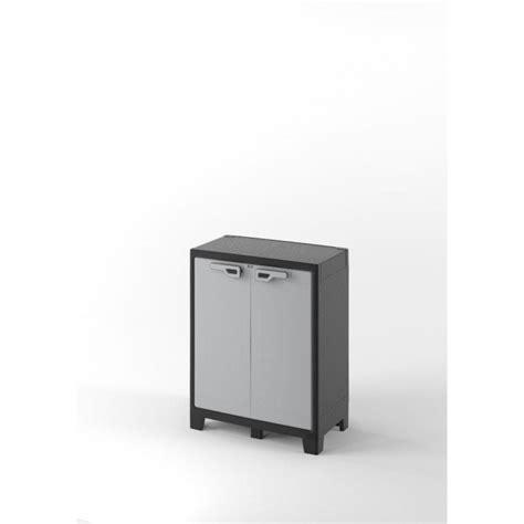 armadio plastica armadio plastica evo ca titan basso xl grigio 80 x 44 x