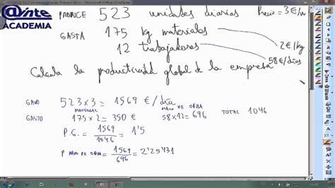 economa 2 bachillerato 8467587121 productividad problema 01 economia 2 bachillerato ainte b2eco0200100 youtube