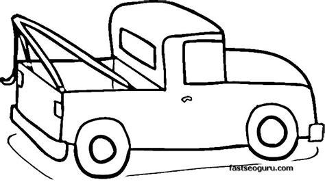 coloring page ups truck pick up truck coloring pages