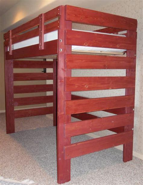 Loft Bed With Desk And Dresser Underneath by Loft Bed Has Room For Desk Dresser Etc Top Bunk