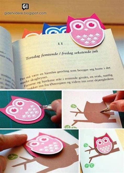 Easy Handmade Bookmarks - 25 best bookmark ideas on bookmarks diy