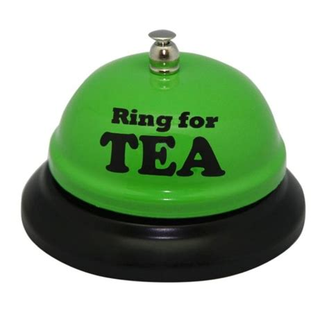 Desk Bell Ring For A Cuppa Find Me A  Ee  Gift Ee
