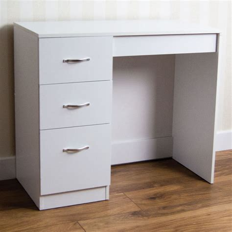 makeup desk with drawers riano 3 drawer dressing table white makeup desk wooden