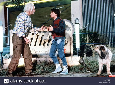 michael j fox back to the future 2 christopher lloyd michael j fox back to the future part