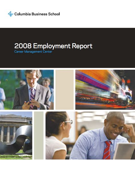 Columbia Mba Recruiting Calendar by Employment Reports Recruiting Columbia Business School