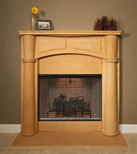 Plaster Fireplace Surround by A Plus Inc Plaster Fireplace Mantels