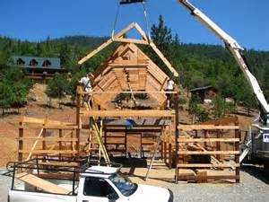 how to build barn building an quot fashioned appearance quot new barn page 8