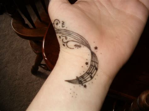 music symbol tattoo designs staff by wildlittlewolf13 design