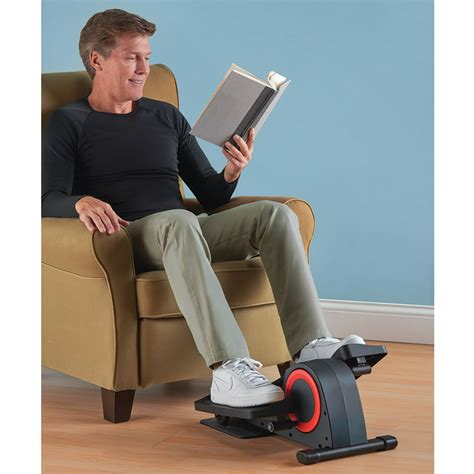 the desk elliptical trainer hammacher schlemmer