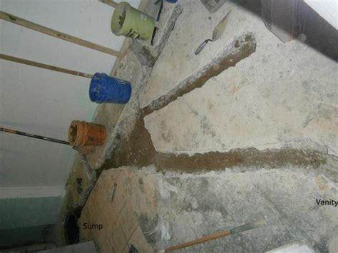 Plumbing Advice Forum by Basement Bathroom Vent And Drain Questions Doityourself