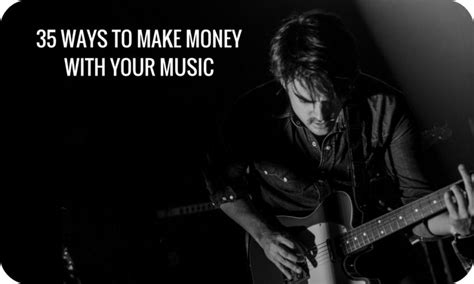 Make Money With Music Online - 35 ways how to make money with music online in 2018