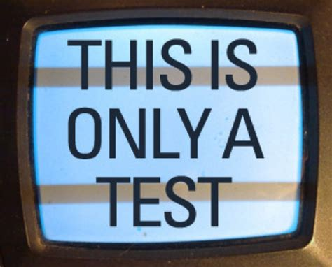this is a test if this is a test and too many americans are failing