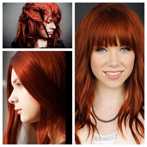 ginger hair color ginger hair color style for hot bride 04 dark brown hairs