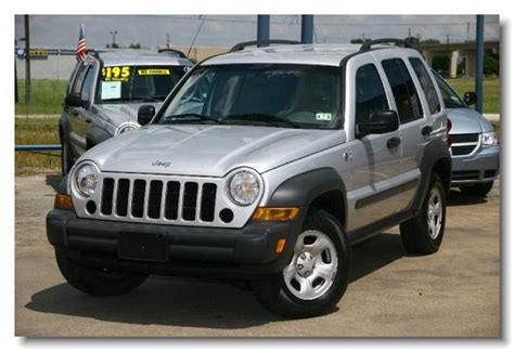 silver jeep liberty 2007 123 tx auto inventory