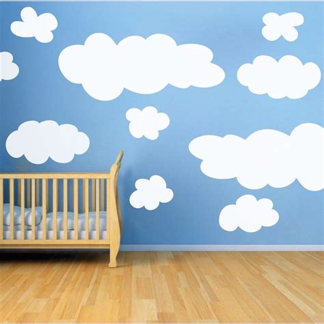 cloud stickers for walls cloud wall decals