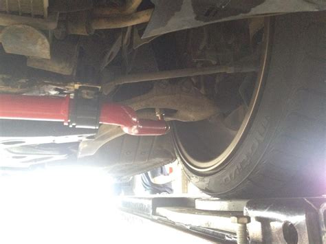 Rack Steer Mazda Rx 8 lowered car does the angle of the steering rack require