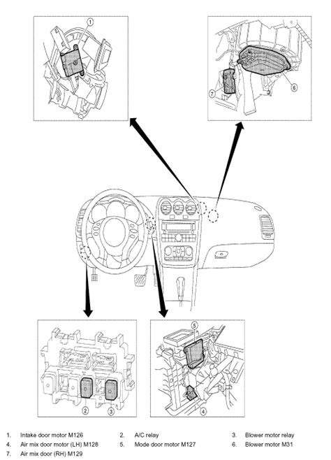 2012 Nissan Rogue Blower Relay by Where Is The Ac Compressor Relay Located On A Altima Nissan