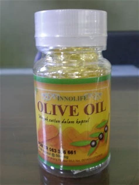 Minyak Zaitun Oilve Smooth Olive Kualitas No 1 10 innolife olive minyak zaitun dalam kapsul rumah herbal propolis