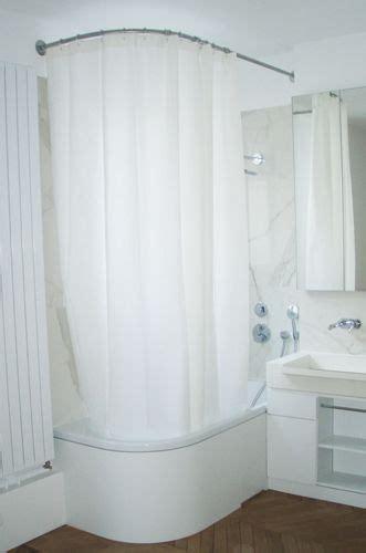 barre d angle pour baignoire barre de rideau de galbobain sur mesure pour