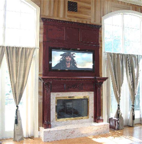 plasma mantel custom plasma mantel plasma television