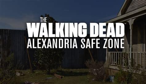 take a tour of alexandria the walking dead