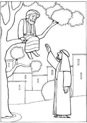free printable coloring pages zacchaeus 66 best zacchaeus crafts images on pinterest zacchaeus