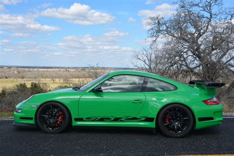 porsche 911 gt3 rs green 2007 porsche 911 gt3 rs in green hunting ridge motors