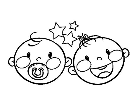 twin babies coloring page free coloring pages of baby dummy