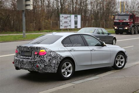 bmw headlights 3 series bmw 3 series facelift spied wearing led headlights