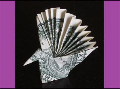 Money Origami Peacock - the world s catalog of ideas