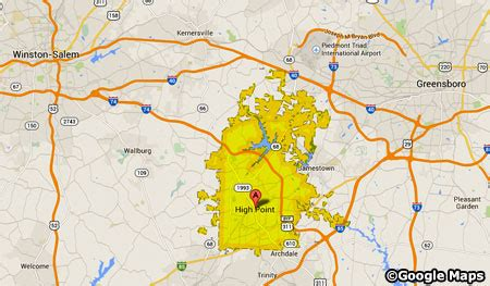 high point nc map high point nc homes for sale the vincent s