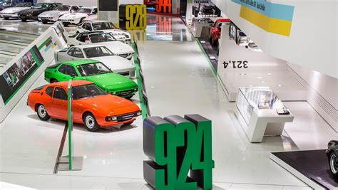 porsche museum museum pays tribute to quot 40 years of the transaxle quot