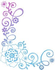 doodle god vire abstract henna mehndi flowers and paisley stock