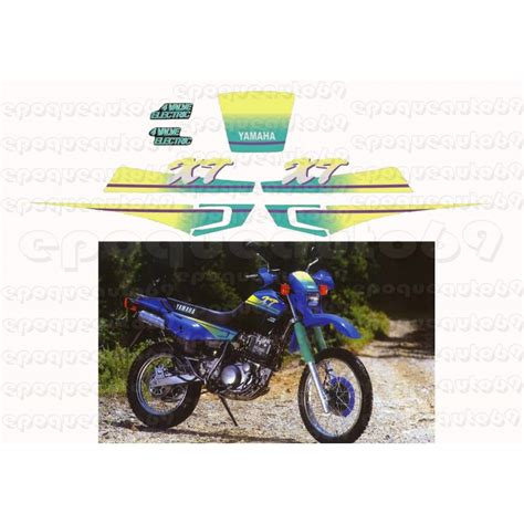 Sticker Yamaha 600 Xt by Autocollants Stickers Yamaha Xte 600 Annee 1993 Epoqueauto69