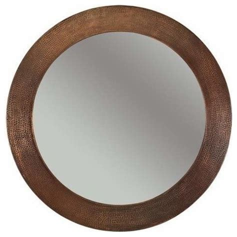 copper bathroom mirrors premier copper products 34 quot copper mirror bathroom