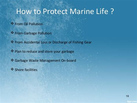 How To Protect From by Marine Pollution