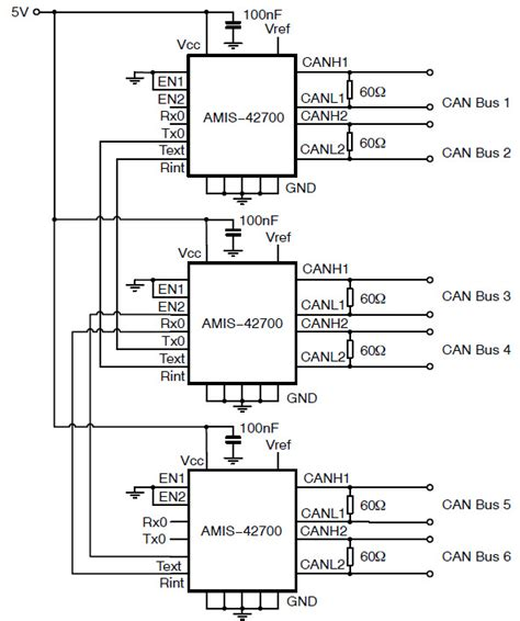 pcb layout guidelines can bus and8360 reference design can transceiver arrow com