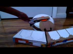 How To Make A Duel Disk Out Of Paper - yugioh cardboard battle city duel disk 2015 home made