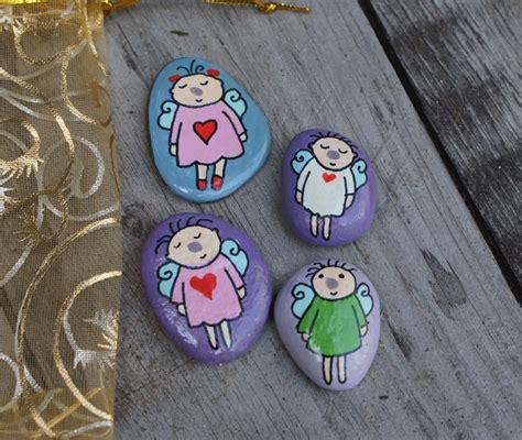 Steine Bemalen Kindern Vorlagen 3759 by Mandagoras World Steine Bemalen Gl 252 Cksteine Schutzengel