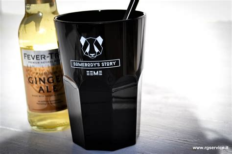 bicchieri in policarbonato bicchieri in policarbonato neri personalizzali