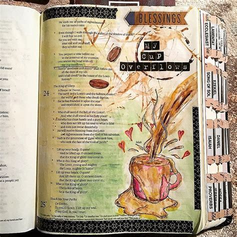 Beautiful Coffee A Beautiful Bible Journaling Example The Coffee Beans And