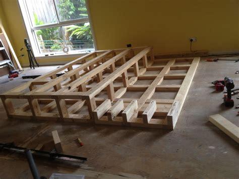 raised platform construction basement offices home