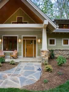craftsman bungalow exterior entry hgtv